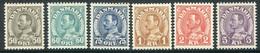 DENMARK 1934-41 King Christian X Definitives MNH / **.  Michel 210-14, 265.  SG283-284b - Ungebraucht