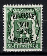 PRE 373 **, MNH, Neufs. De 1938. Série 7 - Typos 1936-51 (Kleines Siegel)