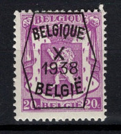 PRE 388 **, MNH, Neufs. De 1938. Série 10 - Typos 1936-51 (Kleines Siegel)