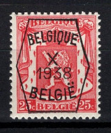 PRE 389 **, MNH, Neufs. De 1938. Série 10 - Typos 1936-51 (Kleines Siegel)
