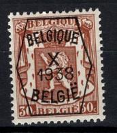 PRE 391 **, MNH, Neufs. De 1938. Série 10 - Typos 1936-51 (Kleines Siegel)