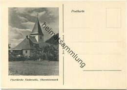 Niederwölz - Pfarrkirche - Verlag Foto Ferida Lieboch - Sonstige