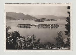 ISOLA  SUPERIORE  O  DEI  PESCATORI:  LAGO  MAGGIORE  -  PER  LA  SVIZZERA  -  FOTO  -  FG - Novara