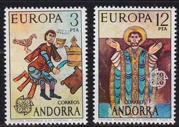 ANDORRA SPANISCH [1975] MiNr 0096-97 ( **/mnh ) CEPT - Ungebraucht
