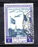 SOMALIA AFIS 1951 , Posta Aerea 1 Som. N. 12 Usato. Consiglio Territoriale - Somalia (AFIS)