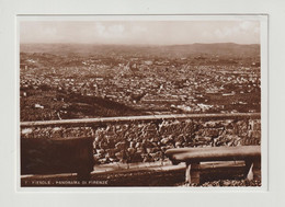 FIESOLE:  PANORAMA  DI  FIRENZE  -  FOTO  -  FG - Firenze