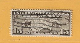 Timbre Etats-Unis Poste Aérienne N° PA 8 - 1a. 1918-1940 Used