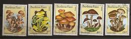 Burkina Faso 1985 Champignons Mushrooms Obl - Burkina Faso (1984-...)