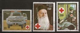 Burkina Faso 1985 Croix Rouge Red Cross Obl - Burkina Faso (1984-...)