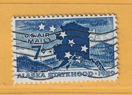 Timbre Etats-Unis Poste Aérienne N° PA 52 - 2a. 1941-1960 Usati
