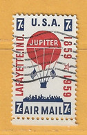 Timbre Etats-Unis Poste Aérienne N° PA 53 - 2a. 1941-1960 Usati