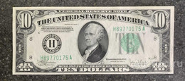 США 10 ДОЛЛАРОВ 1934 C 8H (СЕНТ-ЛУИС) № H 89770175 A 'UNC!!!' (см.фото) - Federal Reserve (1928-...)