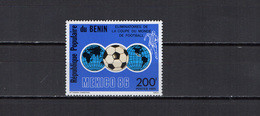 Benin 1985 Football Soccer World Cup Stamp MNH - 1986 – Messico