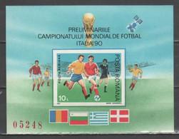 Romania - Italia '90 - Qualificazioni Bf                     (g8007) - 1990 – Italia