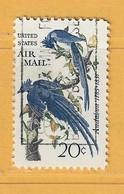 Timbre Etats-Unis Poste Aérienne N° PA 67 - 3a. 1961-… Usati