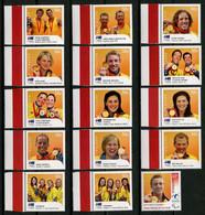 AUSTRALIE 2008 N° 2928/2941 Et 2986 ** Neufs MNH Superbes C 16.60 € Sports Jeux Olympiques été Pékin Athlètes Games - Nuovi