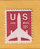Timbre Etats-Unis Poste Aérienne N° PA 74 - 3a. 1961-… Usati