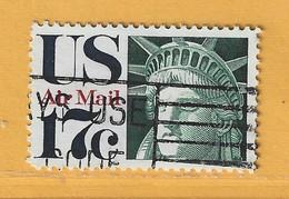 Timbre Etats-Unis Poste Aérienne N° PA 76 - 3a. 1961-… Usati