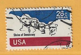 Timbre Etats-Unis Poste Aérienne N° PA 81 - 3a. 1961-… Usati