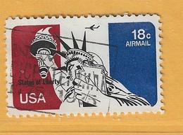 Timbre Etats-Unis Poste Aérienne N° PA 82 - 3a. 1961-… Usati