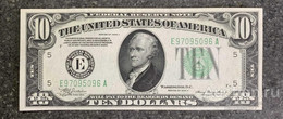 США 10 ДОЛЛАРОВ 1934 A 5E (РИЧМОНД) № E 97095096 A 'UNC!!!' (см.фото) - Federal Reserve (1928-...)