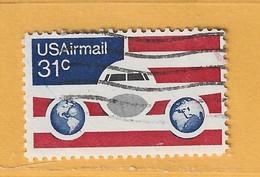 Timbre Etats-Unis Poste Aérienne N° PA 84 - 3a. 1961-… Usati