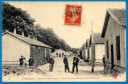 CPA 94 VINCENNES - Camp (militaire) De St SAINT-MAUR Vue Prise De La Route De La Pyramide ° F.F. Fleury 8 * MILITARIA - Vincennes