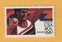Timbre Etats-Unis Poste Aérienne N° PA 95 - 3a. 1961-… Usati