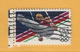 Timbre Etats-Unis Poste Aérienne N° PA 96 - 3a. 1961-… Usati
