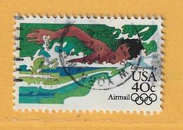 Timbre Etats-Unis Poste Aérienne N° PA 97 - 3a. 1961-… Usati