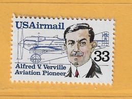 Timbre Etats-Unis Poste Aérienne N° PA 107 - 3a. 1961-… Usati