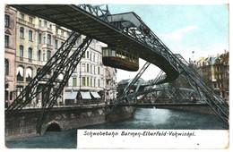 CPA - Carte Postale Germany-Wuppertal-Elberfeld- Schwebebahn Barmen 1909 -VM39201ok - Wuppertal
