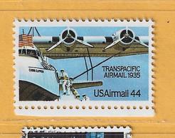 Timbre Etats-Unis Poste Aérienne N° PA 109 - 3a. 1961-… Usati