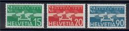 SVIZZERA 1932 - POSTA AEREA - SERIE COMPLETA - MH / * - Neufs