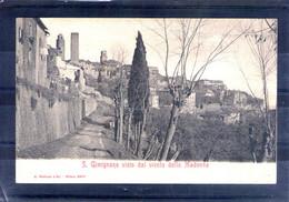 Italie. S. Gimignano Visto Dal Vicolo Della Madonna - Altre Città