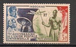 Indochine - 1949 - Poste Aérienne PA N°Yv. 48 - UPU / Union Postale Universelle - Neuf Luxe ** / MNH / Postfrisch - Aéreo