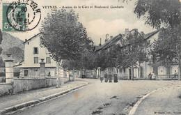 ¤¤  -   VEYNES   -  Avenue De La Gare Et Boulevard Gambetta      -   ¤¤ - Other Municipalities