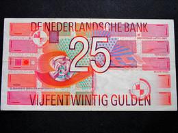 Superbe  Billet De 25 Gulden Des Pays Bas De 1989 - Ohne Zuordnung