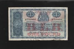 Ecosse Billet De One Pound 1942 - 1 Pound