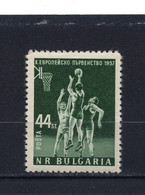 BULGARIE - Y&T N° 890* - MH - Sport - Basket-ball - Ungebraucht