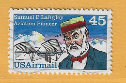 Timbre Etats-Unis Poste Aérienne N° PA 112 - 3a. 1961-… Usati