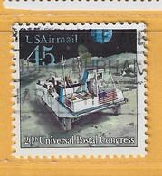 Timbre Etats-Unis Poste Aérienne N° PA 118 - 3a. 1961-… Usati