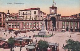 Napoli - Piazza Dante - Tram - Fp Vg 1929 - Napoli