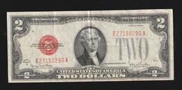 Billet De 2 Dollars 1928 Bel Etat - United States Notes (1928-1953)