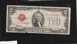Billet De 2 Dollars 1928 Etat Moyen - United States Notes (1928-1953)