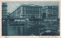 Napoli - I Grandi Alberghi A S.Lucia - Fp Vg 1932 - Napoli
