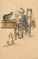 ANIMAUX CHATS FANTAISIE - Mon Petit Déjeuner Avec Mon Chat Etchien - Gatti