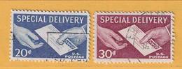 Timbre Etats-Unis Express N° 16 - 17 - Espressi & Raccomandate
