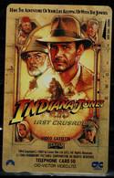 JAPAN  1989 PHONECARD CINEMA  INDIANA JONES USED VF!! - Cinema