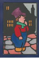 CPA COOK Type LEWIN Pochoir écrite Surréalisme MUNK MM VIENNE 667 - Humorkaarten